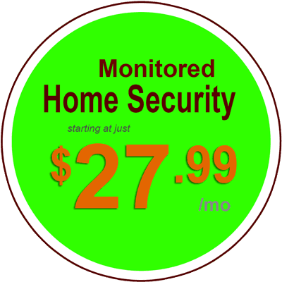 ADT Monthly packages on sale for 24.99