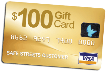 free visa gift-card with ADT service