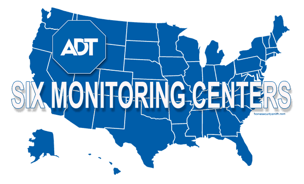ADT Coverage Map United States